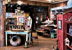 The giftshop at Sundance Resort