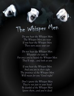 The Whisper Men are actually some of the scariest doctor who monsters
