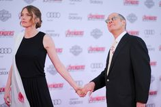 """James Spader and Leslie Stefanson Photos Photos - Actors Leslie Stefanson and James Spader attend the premiere of Marvel's """"Avengers: Age Of Ultron"""" at Dolby Theatre on April 13, 2015 in Hollywood, California. - Premiere Of Marvel's 'Avengers: Age Of Ultron' - Arrivals"""