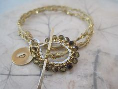 Love this bracelet from Immortelle Jewelry