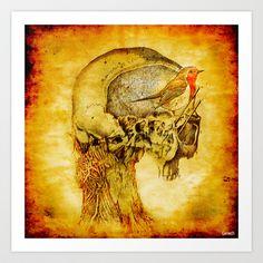 Bird's nest Art Print by ganech - $15.60