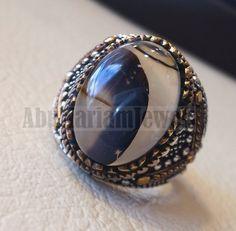 Jonction Argent Blanc Topaze /& saphir bleu Ring Wedding Bridal Women Jewelry 6-10