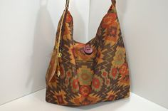 Handmade Messenger Bag, Native American Print Home Décor Fabric on Etsy by uniquefabricgifts (sold)