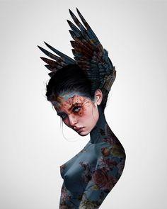 Digital drawing by Laura H. Inspirational Quotes Wallpapers, Creature Drawings, Digital Art Tutorial, Anatomy Art, Human Art, Art Tutorials, All Art, Amazing Art, Art Drawings