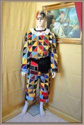 Costume Arlecchino nella Commedia