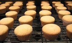 Alton Brown's Chiffon Cupcakes www.c… Here is the one for Chocolate Chiffon Cupcakes: www.c… FULL RECIPE HERE Whit. Sponge Cupcake Recipe, White Cupcake Recipes, Cupcake Frosting, Cupcake Cakes, Cupcake Mix, Sponge Cake, Cup Cakes, Vanilla Chiffon Cupcakes Recipe, Baking Recipes