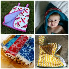 How to make hooded towels for kids, towel wraps and other projects!