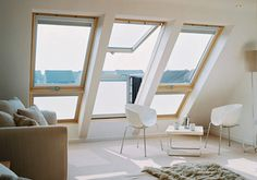 VELUX GDL SK0W321 Cabrio Triple Balcony System,  Tile Roof