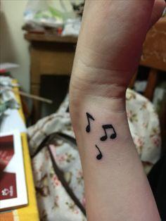 Mi primer tatuaje 🙂 #tattoo #musictattoo #tatuaje