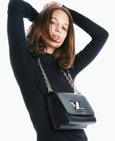 Alicia Vikander for Louis Vuitton's 'The Twist' handbag Spring/Summer 2016 ad campaign. Having fully arrived, Miss Alicia unveils the highly lucrati