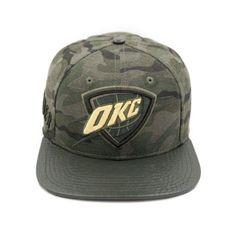 best service 36d28 6d799 Pro Standard Oklahoma City Thunder OKC Camo NBA Strapback Hat – Sharpblends  Trends Strapback Hats,