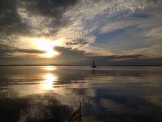 Herbstabend auf dem Steinhuder Meer
