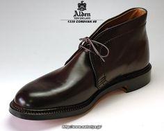 Alden #1339 Dark Burgandy Shell Cordovan Chukka Boots Barrie Last 8D