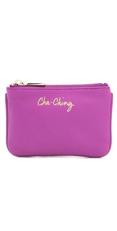Want one of these! rebecca minkoff pouch