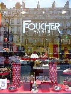 Foucher - my favorite chocolate shop in Paris!