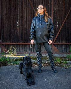 Rain Suit, Rain Wear, Vinyls, Raincoat, Bomber Jacket, Suits, How To Wear, Jackets, Clothes