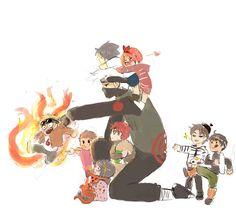 So perf. Kakashi babysitting.