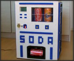 LEGO Soda Machine