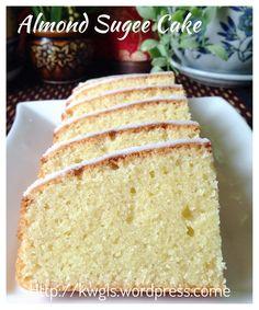 Almond Semolina Cake without flour - Sugee cake   #kenneth_goh   #guaishushu  #almond_sugee_cake