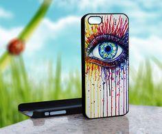 Rainbow Eye - Design on Hard Case for
