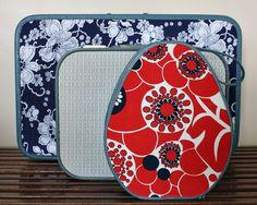 GreenArdelle:   DIY Decoupaged Suitcases
