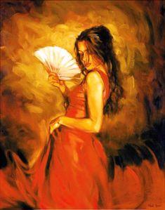 Lady of Spain - Flamenco Dancer