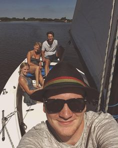 Happy fathers day to the family captain. #fathersday #family #captain #sailing #boat #sun