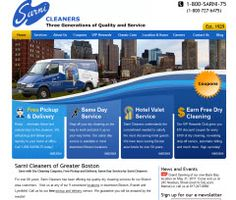 Sarni Cleaners of Greater Boston  Dry Cleaning Services