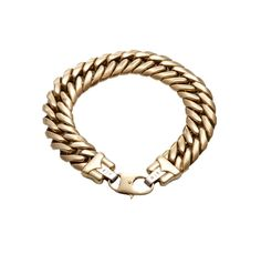 (18JD) 18ct Gold Link Bracelet n\A large curved link bracelet. 18ct gold. Weight 45.0 grams. Length 23cm. Fine Jewels &… / MAD on Collections - Browse and find over 10,000 categories of collectables from around the world - antiques, stamps, coins, memorabilia, art, bottles, jewellery, furniture, medals, toys and more at madoncollections.com. Free to view - Free to Register - Visit today. #Jewelry #Bangles/Bracelets #MADonCollections #MADonC Gold Link Bracelet, Link Bracelets, Bangle Bracelets, Bottles, Mad, Stamps, Coins, Collections, Jewels