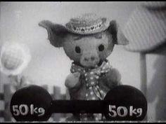 O vepříku a kůzleti. Music Film, Vintage Antiques, Teddy Bear, Entertaining, Retro, Toys, Children, Animals, Activity Toys