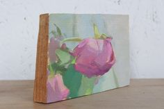 Michelle Farro, Wilted Rose, Rose - Return on Art< Wilted Rose, Art World, Female, Canvas, Oil, Artists, Painting, Times, Tela