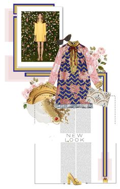 """""""Day Dreaming"""" by bittersweetcolours ❤ liked on Polyvore featuring Magenta, Gucci, Topshop, KOTUR, Burberry, R.H. Macy's & Co., Elsa Schiaparelli, women's clothing, women and female"""