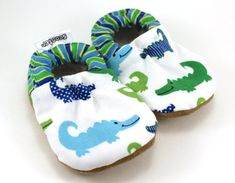 Buy Now alligator baby shoes crocodile baby shoes green and...