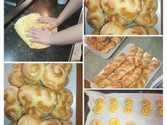 Πασχαλινά #κουλούρακια Σμυρνέικα !! #πασχαλινή συνταγή ! #πικνίκ Shrimp, Meat, Ethnic Recipes, Food, Eten, Meals, Diet