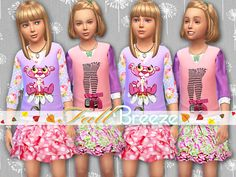 STATUS untested - TSR / Pinkzombiecupcakes' Fall Breeze Set