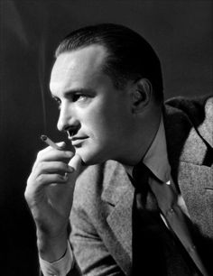 GEORGE SANDERS, 1906-1972, actor. To me, this is what a real movie star should be. Sanders was the epitome of the urbane, velvet-voiced worldly man. He pretty much played that in every film he was in--including dozens of classics such as All About Eve The Picture of Dorian Gray. Like James Mason or Vincent Price, he was one of a kind. Whenever he was on the screen nobody else had a chance, really.