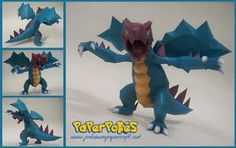 paperpokes | Paperpokés - Pokémon Papercrafts