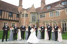 Royal Oak Wedding Photographers-Weddings by Adrienne & Amber #meadowbrook #detroit #michigan #photography #meadowbrookhall  #weddings #rochester #outdoor #bride #groom #beautiful #viel #couple #kiss #wedding #royaloak #photo