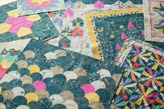 """Carrie Bloomston's Story Collection for Windham Fabrics hit shops in September of last year and we were proud to offer a coordinating Aurifil thread box. """"I loved the effortlessness of designing Story. I filled the collection with archetypes such as home, family, garden, nature, stars, moon, sun, etc. in hopes that people would use the prints to tell their own story."""" For the full interview and to enter-to-win in our Story giveaway, please visit…"""