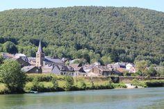 Photo : La vallée de la Meuse par la Voie Verte de Charleville à Chooz,  France, Paysages, Villages, Deville. Toutes les photos de jean claude Bauduin sur L'Internaute