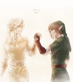 Someone save my heart!! | Twilight Princess meets Ocarina of Time. The Hero's spirit and the Hero of Twilight