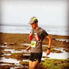 #ThrowbackThursday 50km individual runner Leon Goh at last years Surf Coast Century. The 50km distance was introduced to make it easier for trail runners to progress up to the full 100km. This year over 140 runners are doing the 50km  yay!  #surfcoastcentury #100km #50km #trailrunning #Anglesea by rapidascent http://ift.tt/1N3tJAU