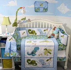 SoHo Dinosaur Baby Crib Nursery Bedding Set 14 pcs SoHo Designs