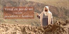 Venid en pos de mi. Mateo 4:19 #Bibila #Jesucristo   http://canalmormon.org/ver/series/videos-de-la-b%C3%ADblia/venid-en-pos-de-m%C3%AD-y-os-har%C3%A9-pescadores-de-hombres