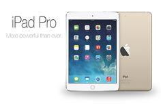 """Novo iPad Pro poderá ter tela de 13"""" com resolução 4K - http://showmetech.band.uol.com.br/novo-ipad-pro-podera-ter-tela-de-13-com-resolucao-4k/"""