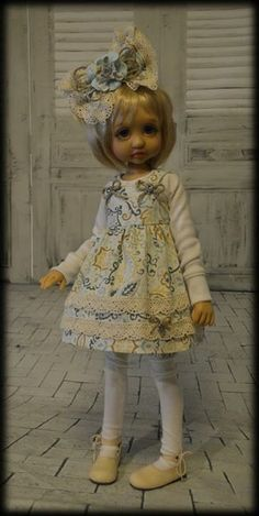 Tracy Promber BJD Bjd Dolls, Ball Jointed Dolls, Handmade Clothes, Doll Patterns, Beautiful Dolls, American Girl, Doll Clothes, Whimsical, Flower Girl Dresses