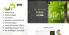 Buy Hubli : Go Green PSD Template by TonaTheme on ThemeForest. Hubli : Go Green PSD Template suitable for all types of Go Green Organization. That Includes totally 13 Pages. Html Website Templates, Psd Templates, Business Templates, Blogger Templates, Theme Forest, Custom Fonts, Premium Wordpress Themes, Go Green, Non Profit
