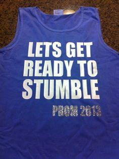 Prom shirts