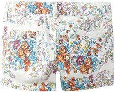 Joe's Jeans Kids Girls 7-16 Printed Mini Short, Bright Floral, 14 - http://www.rainbowclothingstore.org/joes-jeans-kids-girls-7-16-printed-mini-short-bright-floral-14/