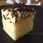 Quick and easy cake using my vanilla cupcake recipe